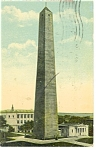 Click here to enlarge image and see more about item p8314: Charlestown, MA, Bunker Hill Monument Postcard 1913