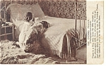 Child at Evening Prayer Postcard 1906