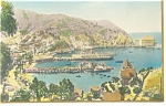 Click here to enlarge image and see more about item p8324: Avalon Bay Catalina Island CA Postcard p8324