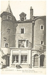 Chaumont, France, Two Turrets House Postcard