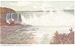 Horseshoe Falls View From Canada Postcard p8353 ca1907
