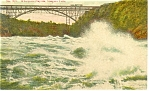 Whirlpool Rapids, Niagara Falls Postcard