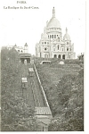 Click here to enlarge image and see more about item p8362: Paris France Basilica of the Sacred Heart Postcard p8362