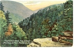 Kaaterskill Clove and Lookout Mt Postcard p8393