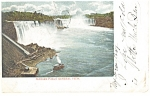 Niagara Falls General View Postcard p8394 1905