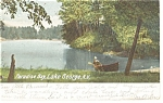Paradise Bay, Lake George, NY Postcard 1905
