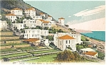 Nice, France Villas on Mont Boron Postcard