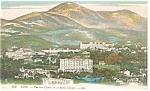 Nice, France Mont Chauve Postcard