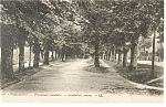 Chaumont,France, Gambetta's Avenue Postcard