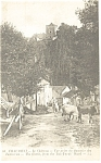 Chaumont France The Castle From Tan Yards Postcard p8410