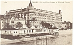 Click here to enlarge image and see more about item p8418: Cannes, France, Hotel Carlton Postcard