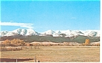 Bridger Mountains, Montana, Postcard