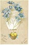 Click here to enlarge image and see more about item p8452: Bright Beyond Easter Postcard 1908