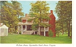 Click here to enlarge image and see more about item p8460: Appomattox Court House VA McLean House Postcard p8460