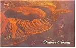 Diamond Head and Black Point HI Postcard p8481