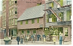 Boston MA Paul Revere House Postcard p8498  ca1910