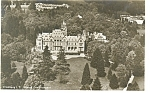 Click here to enlarge image and see more about item p8503: Kronberg i T Germany Castle Friedrichshof Postcard p8503