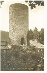 Click here to enlarge image and see more about item p8504: Frank Schweiz Castle Rabenstein Garden Postcard p8504
