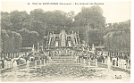 Paris,France, St Cloud Park Cascades Postcard