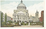 Click here to enlarge image and see more about item p8533: Boston MA  Christian Science Church Postcard p8533