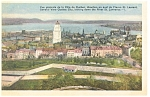 General View of Quebec City, Canada Postcard