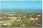 Click here to enlarge image and see more about item p8613: Aerial View of Clemson University Postcard p8613