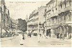 Click here to enlarge image and see more about item p8634: Hotel du Chateau Blois France Streetscape Postcard p8634