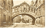 Click here to enlarge image and see more about item p8664: Oxford Hertford College UK Postcard p8664