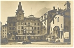 Click here to enlarge image and see more about item p8670: Brigue France Grand Hotel Postcard p8670