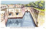 Click here to enlarge image and see more about item p8674: Castle of San Fernando de Bocachia Columbia Postcard p8674