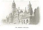 Click here to enlarge image and see more about item p8675: The Imperial Institute UK Postcard p8675