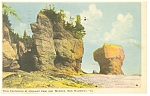 Click here to enlarge image and see more about item p8678: Hopewell Cape Moncton New Brunswick Postcard p8678