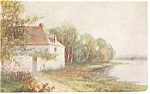 Country Home Artwork Postcard p8683