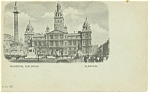 Municipal Building, Glasgow, Scotland Postcard