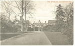 Click here to enlarge image and see more about item p8699: The Stables Sandringham Estate England Postcard p8699
