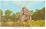 Click here to enlarge image and see more about item p8706: Cape Cod MA Windmill Postcard p8706
