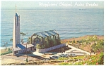 Click here to enlarge image and see more about item p8745: Wayfarers  Chapel Rancho Palos Verdes CA Postcard p8745