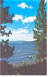 Click here to enlarge image and see more about item p8757: Lake Tahoe Crystal Bay, NV Postcard