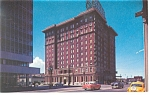 Salt Lake City UT Hotel Newhouse Postcard p8760 Old Cars