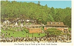 Field of The Woods Biblical Memorial, NC Postcard