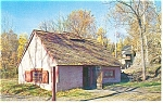 Hopewell Village PA Blacksmith Shop Postcard p8803
