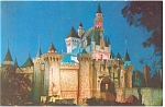 Click here to enlarge image and see more about item p8820: Sleeping Beauty s Castle Disneyland  CA Postcard p8820