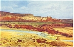 Click here to enlarge image and see more about item p8836: Red Rocks on Route 66  Postcard