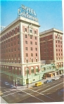 Click here to enlarge image and see more about item p8847: Hotel California, Fresno, CA Postcard