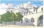 Click here to enlarge image and see more about item p8858: Mission San Xavier  Tucson  Arizona   Postcard p8858