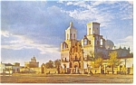 Click here to enlarge image and see more about item p8859: Mission San Xavier Del Bac Tucson  AZ  Postcard p8859