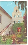 Click here to enlarge image and see more about item p8873: Mission San Diego De Alcala CA Postcard p8873