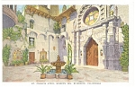 Mission Inn Riverside CA Postcard p8876