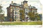 Click here to enlarge image and see more about item p8888: Adelbert College,Cleveland, Ohio Postcard 1907