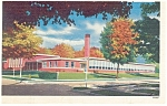 Click here to enlarge image and see more about item p8892: McKinley Grade School, Lisbon, OH Postcard